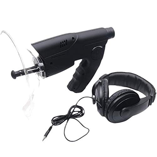 Bionic Ear Listening Devices Parabolic Microphone, with 8X Optical System TF Memory Card Can Be Inserted,Long Range Listening Device HSGAV
