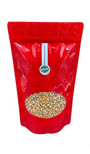 Premium Mushroom Popcorn Kinopopcorn 1 Kg Beutel XL 1:46 Premium Popcorn Popvolumen im wieder verschließbarem Beutel GMO Frei