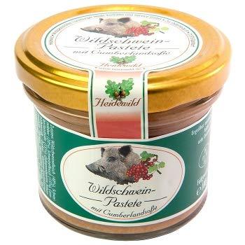 Heidewild - Wildschwein Pastete mit Cumberlandsoße - 100 GR