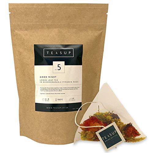 Teasup Good Night Bedtime Tea Pyramid Tea Bags - 20