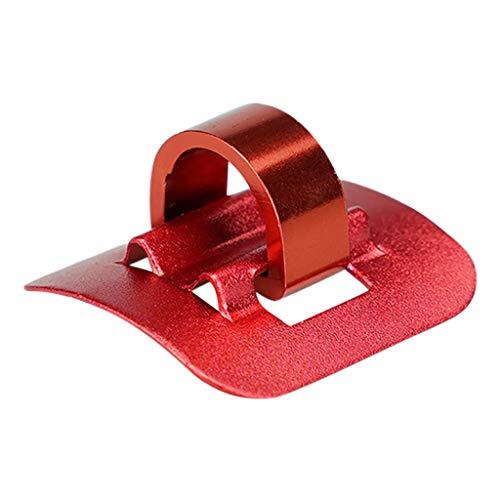 Kabelhalter Kabelführung Kabel Organizer Kabelschlauch Kabelkanal Kabel Scooter Cable Tie Buckle Organizer für Xiaomi M365/PRO Scooter Skateboard (Rot)