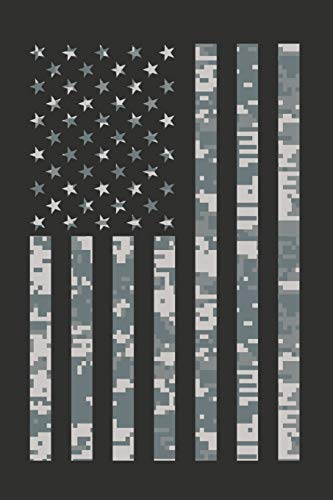Home Of The Brave: Camouflage American Flag Composition Notebook Journal Military Theme College-Ruled Lined Multi-Purpose Digital Camo Diary Notepad ... Work, Home, Hunting, Fishing, Hobby, Planner.
