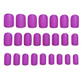TWW Uñas Postizas Largas para Usar, Parches Terminados, Uñas Postizas, Uñas, Uñas Postizas, Manicuras, Muchos Estilos, Fáciles De Quitar, Sin Pegamento,B