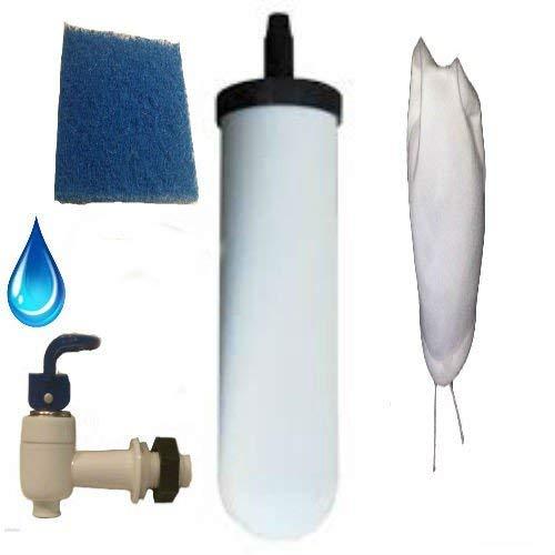 SHTFandGO Gravity Water Filter Kit for DIY Purifier- Key Features