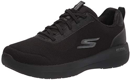 Skechers Go Walk Stability Magnificent Glow, Zapatillas Mujer, Black, 38 EU