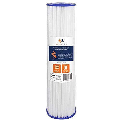 20 pleated sediment filter - 1