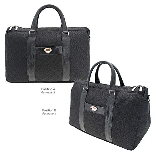 Lowest Price! AdSpec NCAA Oklahoma State Cowboys Collegiate Women's Duffel BagCollegiate Women's Duffel Bag, Black, One Size