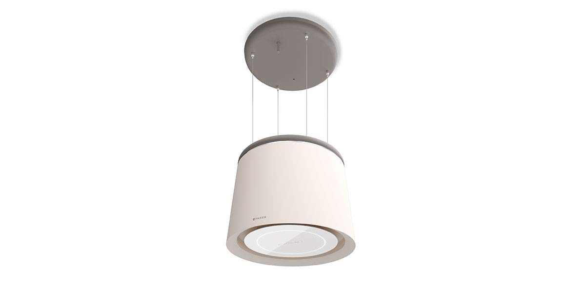 Faber CELINE - Campana extractora (60 cm), color blanco y gris: Amazon.es: Grandes electrodomésticos