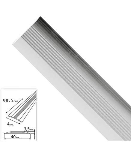 Wolfpack 2541110 Tapajuntas adhesivo moquetas aluminio