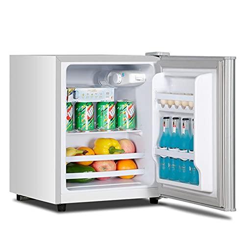 YMXLXL 28L Mini Refrigerador, 7 Marchas para Ajustar Temperatura, Ruido Bajo, Revestimiento Transparente Nevera para Hotel con Tabique y Balda Desmontables, Nevera Eléctrica con Función Frío y Calor