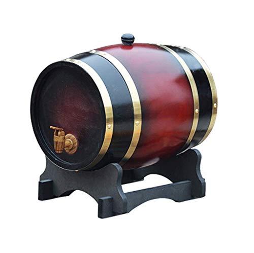 Toneles para Vino, 3L-50L Wine Oak Barrel, White Wine Red Wine Barrel Decoración del hogar Wine Barrel Beer Barrel (tamaño : 20L)