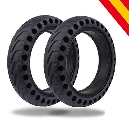 HORO.ES Repuesto Neumático Rueda 8,5' sólido para Scooter Eléctrico Xiaomi Scooter M365 - Negro (2)