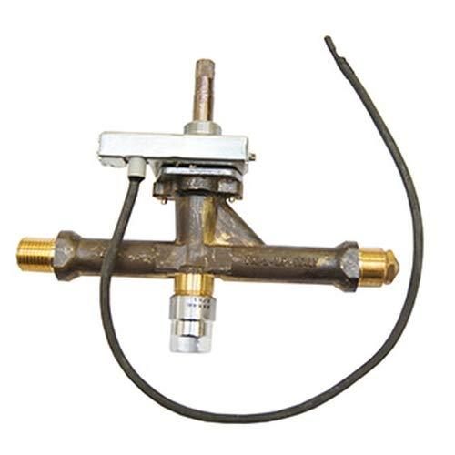ATIKA Ersatzteil | Gasventil mit Gasdüse und Piezozünder für Heizstrahler FESTIVAL
