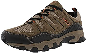 Fila Men's Outdoor Hiking Trail Running Athletic Shoes Brown/Orange (11)