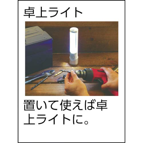 MUSASHI『ライテックス懐中電灯付LEDセンサーライト』