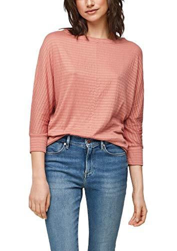 s.Oliver Damen 120.10.103.12.130.2063951 T-Shirt, Blush, 44