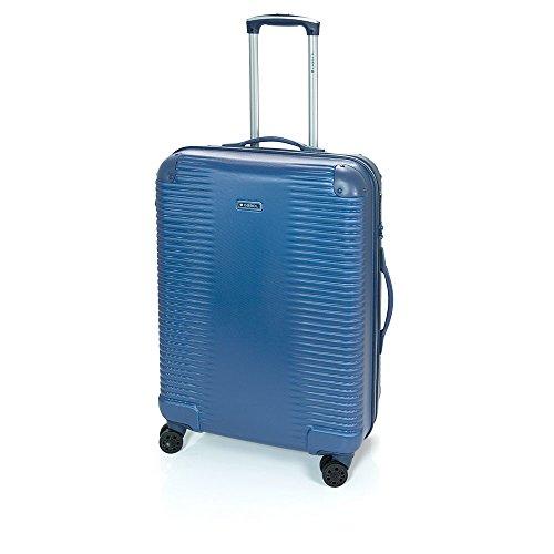 Gabol - Balance | Maletas de Viaje Medianas Rigidas de 47 x 66 x 25 cm con Capacidad para 55 L de Color Azul
