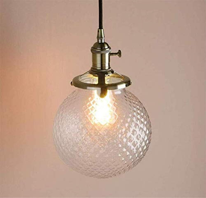 Lichtcrystal Hngende Deckenpendelleuchte Loft Bar Kitchen Island Lampe Leuchte Mit Klarglas Kugel Schatten