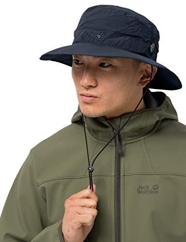 Jack Wolfskin Unisex Supplex Mesh Hat Sonnenhut, night blue, L