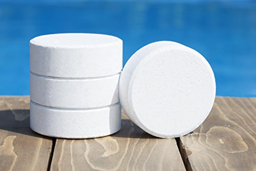 "Swim Best 50 lbs Bucket 3"" Swimming Pool Stabilized Chlorine Tablets, Commercial Grade"