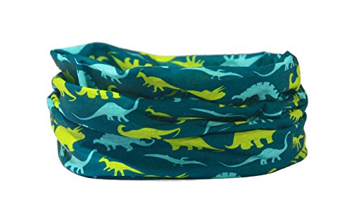 Ruffnek DINOSAURS Calentador de cuello / bufanda multifuncional para hombres, mujeres, niños - Pañuelo / bufanda.