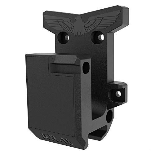 AR15 Wall Mount, Gun Rack with Absolutely Strong and Solid PA Material& Frosting Treatment Display Storage Organization System Unique Low Profile Design Withstand 300Lbs of Tension