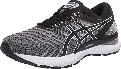 ASICS Men s Gel Nimbus 22 Running Shoes 11M White Black product image
