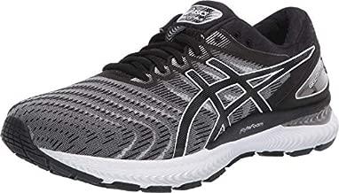 ASICS Men's Gel-Nimbus 22 Shoes, 11, White/Black