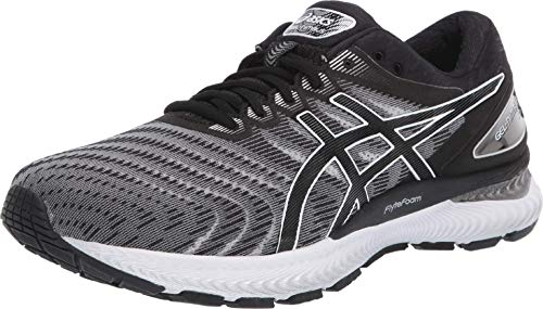 ASICS Men's Gel-Nimbus 22 Shoes, 11M, White/Black