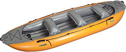 Gumotex Ontario 420 6 Personen Wander-/ Tourenschlauchboot aufblasbar Wanderboot, Farbe:orange