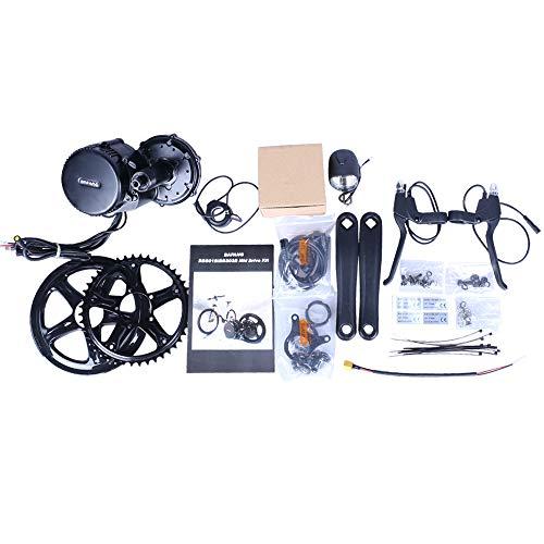 Bafang 48V 350W Kit Motore Mid Drive motorizzato Senza spazzole Kit Motore Mid Bike Kit di conversione Bici elettrica BBS01B Kit Accessori Moto Ebike Senza Batteria