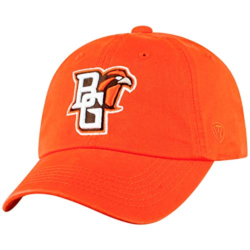 Top of the World Bowling Green Falcons Men's Relaxed Fit Adjustable Hat Team Color Primary Icon, Adjustable
