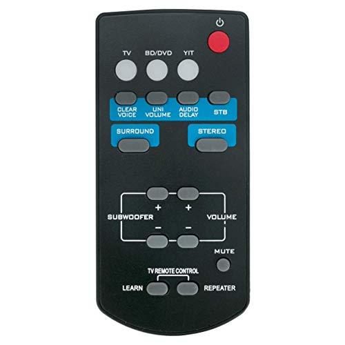 VINABTY FSR60 WY57800 Telecomando per Yamaha Soundbar YAS-101 ATS1010 YAS101 YAS101BL YFSR60 YAS-201 YAS-101BL ATS-1010