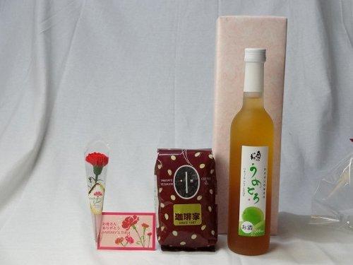 父の日 ギフトセット リキュールセット(完熟梅の味わいと日本酒のうまみをたっぷりの梅リキュール うめとろ500ml 7%奥の松酒造(福島県)+オススメ