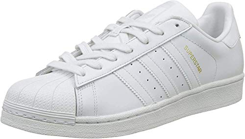 adidas Men's Superstar Fitness Shoes, White (Crywht/Cgreen/Cblack Crystal White S16/COLLEGIATE Green/CORE Black), 5.5 UK