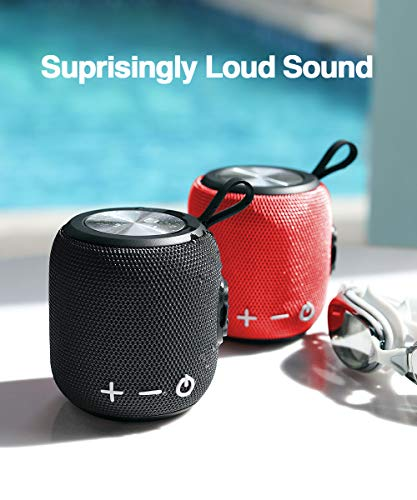 Bluetooth Speaker,Portable Dual Pairing Loud Wireless Mini Speaker, 360 HD Surround Sound & Rich Stereo Bass,12H Playtime, IPX6 Waterproof for Travel, Outdoors, Home and Party 3