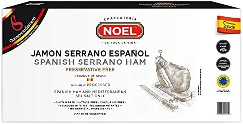 Spanish Serrano Ham With Board Knife product image