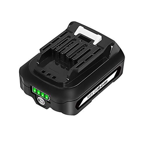 Bsioff BL1015 10.8V 2.0Ah baterías de litio de repuesto compatibles con Makita A-59863 BL1040 BL1040B BL1015 BL1030B BL1050B BL1041B-2 BL1021B BL1016 BL1060B