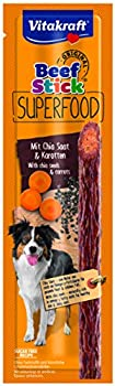 VITAKRAFT Beef Stick Superfood carottes & graines de chiaFriandise pour chien 1 stick