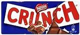 Nestlé Crunch - Tableta de Chocolate con Leche y Cereales - Tableta de Chocolate 100 gr