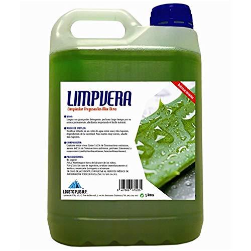 Quimicas Eya Lp00002481 - Fregasuelos limp 5lt liq aloe vera garrafa limpvera logistic