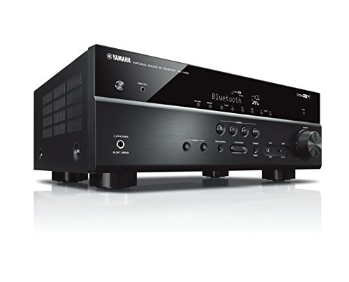 Yamaha RX-V485 – Alexa compatible MusicCast AV receiver with Wi-Fi and Bluetooth – 5.1 Cinema Surround Sound – Black
