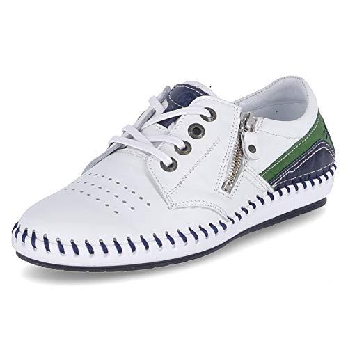 KRISBUT Sneaker Low Größe 43 EU Weiß (Weiß)