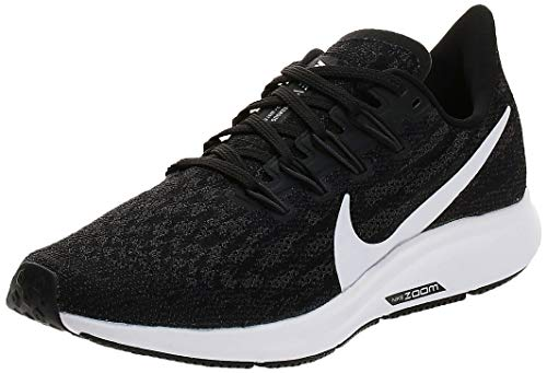 Nike Air Zoom Pegasus 36 Women's Running Shoe Black/White-Thunder Grey Size 7.5