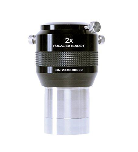 2X Explore Scientific Focal Extender; 2-inch Barrel; 4 Elements