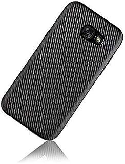 Samsung Galaxy A5 2017 TPU Flexible Carbon Fiber Case Cover For Galaxy A5 2017 Black By Muzz