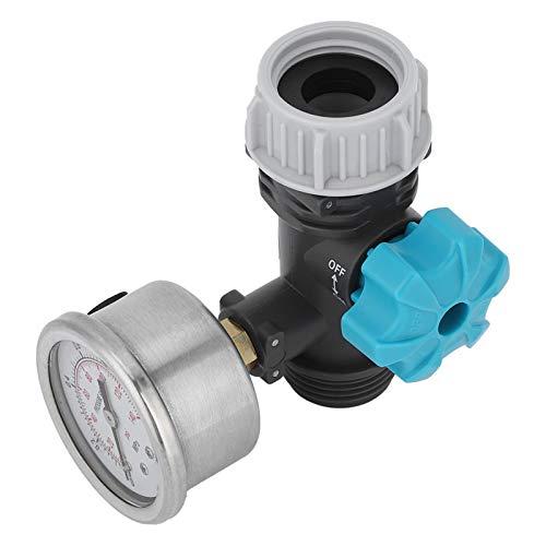 Omabeta Langlebiges Druckreduzierventil Hochgenaues Wasserdruckventil Wasserdruckregler Druckminderer Druckregler 3.3x2.0in für Garten