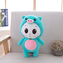 MANGMOC 1Pc 38Cm Cute Nese Zodiac Plush Toy Soft Mouse Cattle Tiger Rabbit Dragon Snake Horse Sheep Monkey Ck Dog Pig Stuffed Doll Must Have Gifts 4 Year Old Boy Gifts Toddler Favourite