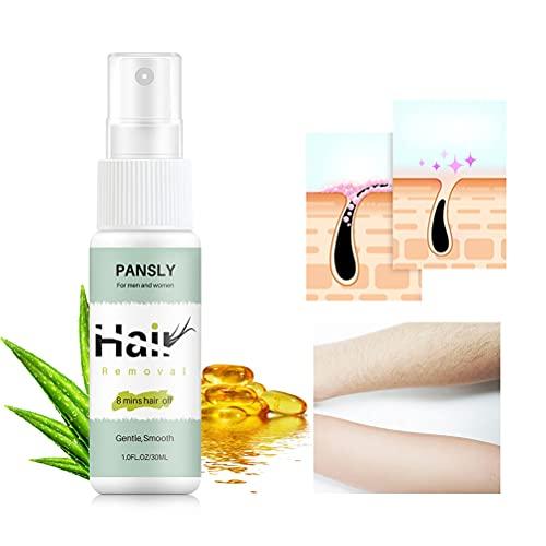 Guillala Haarentfernung Spray, Hair Removal Spray Hairaway Enthaarungsspray für Arme und Beine Haare schnelle Entfernung, Schönheitssalon, Heimgebrauch - 30ml