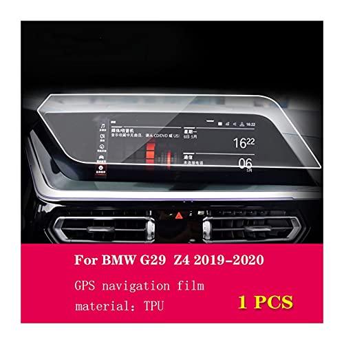 Película Protectora para automóviles para BMW G29 Z4 2019 2020 Automotriz GPS Navegación Película Protectora Pantalla LCD TPU Pantalla de película Protector Anti-Scratch Interior